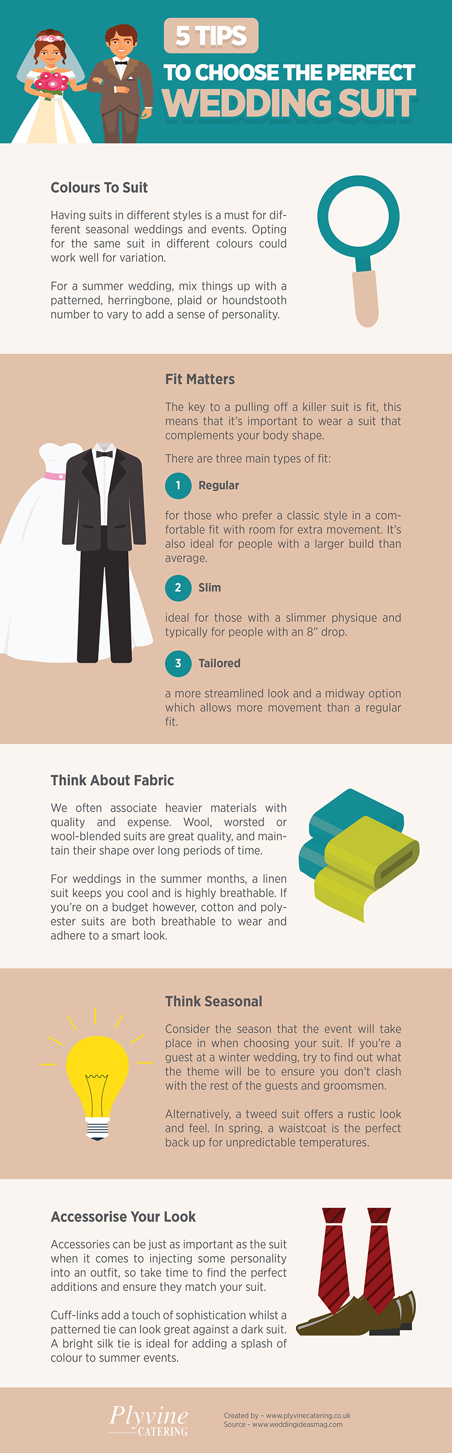 5 Tips to Choose the Perfect Wedding Suit