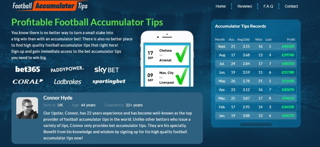 Profitable Football Accumulator Tips