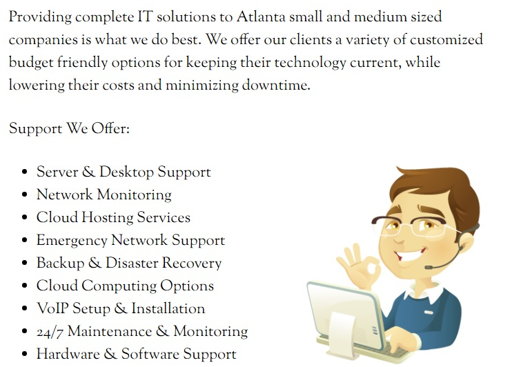 Atlanta managed services