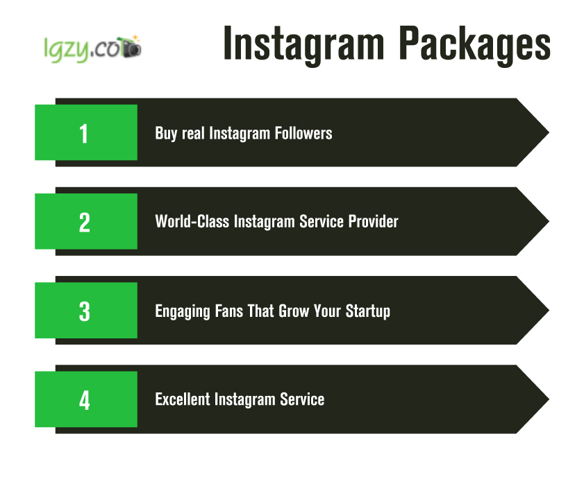 Igzy sources real account users for instagram likes and followers